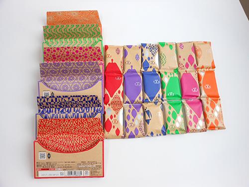 ザ・チョコレート 開封して個包装並べました