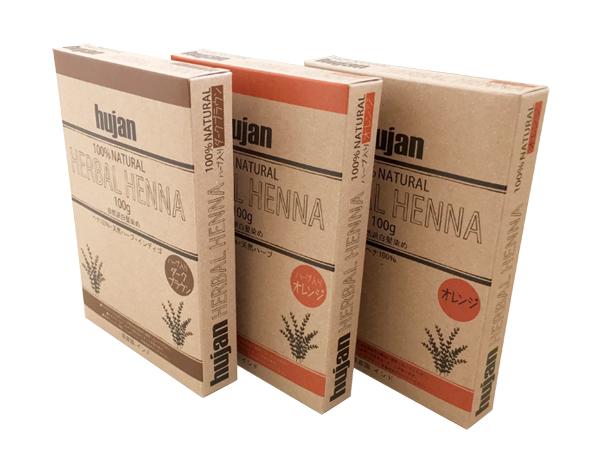自然派イメージ クラフト用紙の化粧箱