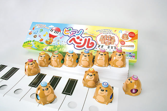 化粧箱屋ドットコム コマガタ 音楽 学習玩具 ピアノベル 幼児向け 化粧箱 仕切り