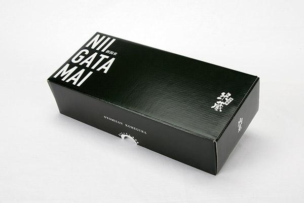 お米用ギフト箱 3合 額縁付き N式 合紙の箱 重いもの向け