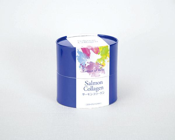 化粧箱屋ドットコム コマガタ 健康食品の箱 紙管 楕円形